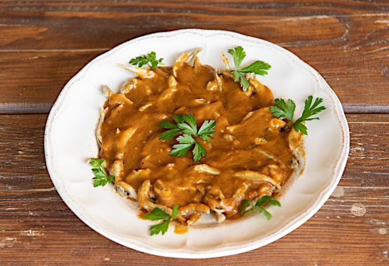 Αθερίνα σαβόρε με σάλτσα πετιμέζι