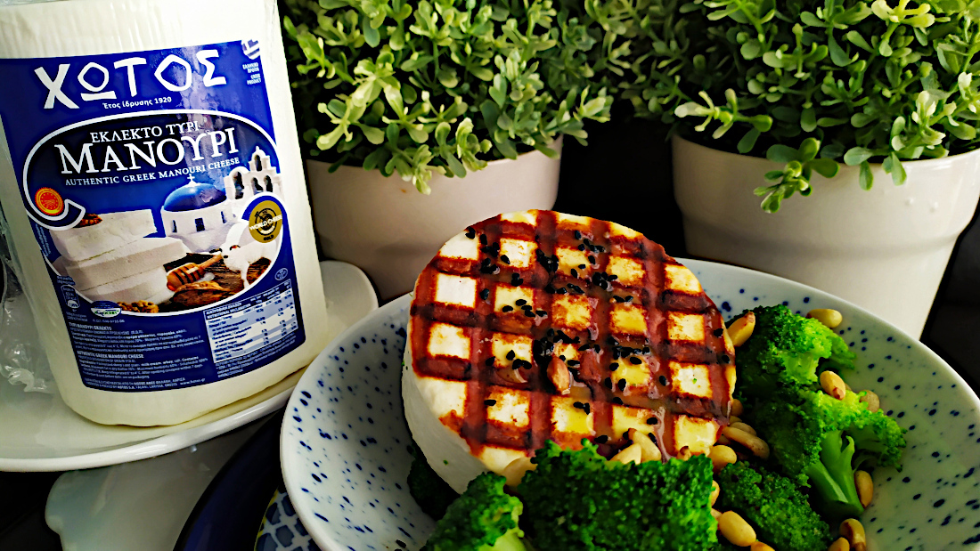 Salata-mprokolo-me-psito-manouri-koukounari-kai-vinegret-portokali-2
