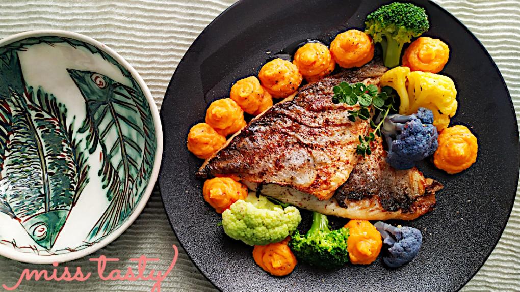 Fileto-tsipouras-sote-me-poure-glukopatatas-1