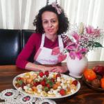 Φρουτοσαλάτα με κρέμα μελιού