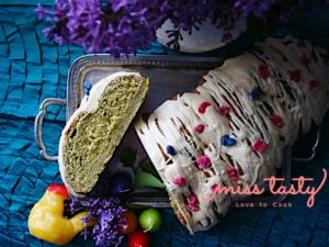Tsoureki-prasino-tsai-kardamo-5